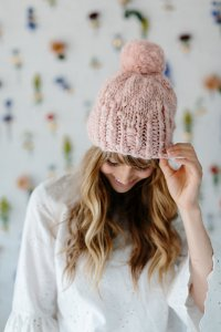 Knit Collage Patterns - Into The Woods Hat - PDF DOWNLOAD Pattern