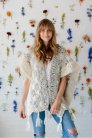 Knit Collage Patterns - Starburst Cloud Poncho - PDF DOWNLOAD