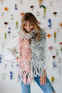 Jimmys Pick - Knit Collage - Counting Sheep Scarf - PDF DOWNLOAD