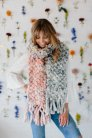 Knit Collage Patterns - Counting Sheep Scarf - PDF DOWNLOAD