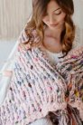 Knit Collage Patterns - Free Flow Blanket - PDF DOWNLOAD