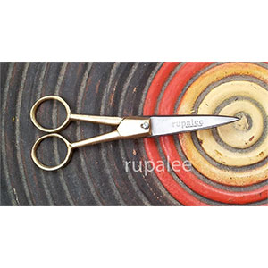Rupalee Handmade Scissors - SC3: 5 Embroidery/Craft/Small Scissors