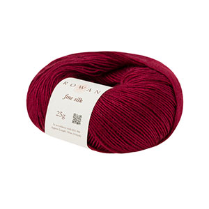Merino silk mix Red Passions 25g mix if red shades with white silk