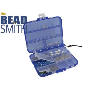 The Beadsmith Storage Box - Blue