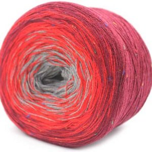 Trendsetter Transitions Tweed Yarn - 39 Wine/Red/Grey
