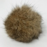 "Big Bad Wool Pompoms  - Rabbit - Natural Brown (2"")"