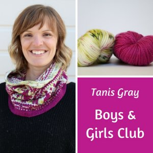 Lorna's Laces The Year of Giving - '18 February - Whippersnapper Cowl / Boys & Girls Club