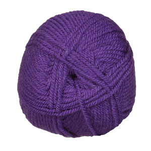Plymouth Yarn Encore Worsted Yarn - 1606 Purple Bell
