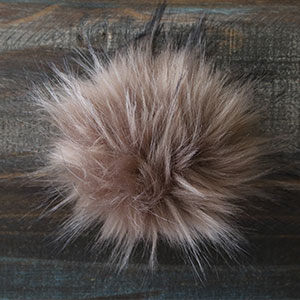Jimmy Beans Wool Faux Fur Pom Poms