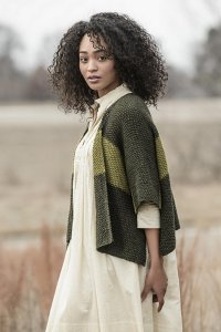Blue Sky Fibers The Classic Series Patterns - Janesville Jacket - PDF DOWNLOAD Pattern