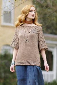 Blue Sky Fibers The Classic Series Patterns - Smock Top - PDF DOWNLOAD Pattern