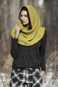 Blue Sky Fibers The Classic Series Patterns - Trimont Snood - PDF DOWNLOAD Pattern