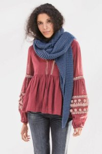 Blue Sky Fibers The Classic Series Patterns - Waverly Wrap - PDF DOWNLOAD Pattern
