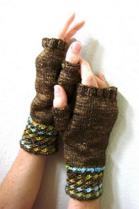 Madelinetosh Patterns - Tosh Patterns - Daisy Mitts - PDF DOWNLOAD