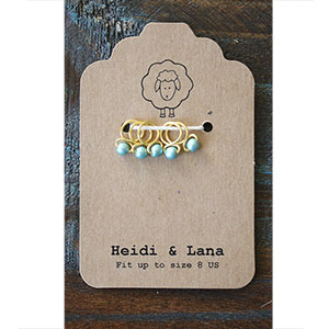 Heidi and Lana Stitch Markers