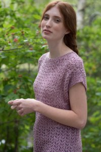 Berroco Portfolio Vol. 5 Patterns - Lake Arrowhead Tee - PDF DOWNLOAD Pattern