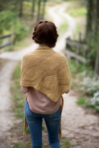 Berroco Portfolio Vol. 5 Patterns - Amber Waves Shawl - PDF DOWNLOAD Pattern