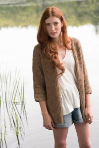 Berroco Portfolio Vol. 5 Patterns - Beachrock Cardigan - PDF DOWNLOAD Pattern