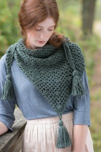 Berroco Portfolio Vol. 5 Patterns - Balsam Scarf - PDF DOWNLOAD Pattern