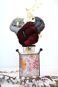 Jimmy Beans Wool Madelinetosh Yarn Bouquets - Free Your Fade Bouquet - Asphalt