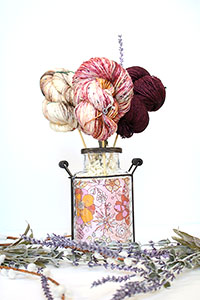 Jimmy Beans Wool Madelinetosh Yarn Bouquets - Free Your Fade Bouquet - Yoko