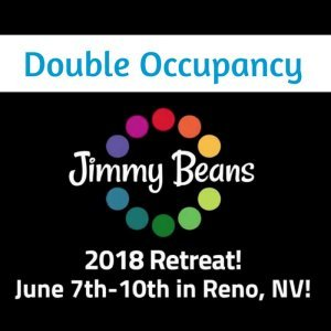 Jimmy Beans Wool 2018 Knitting Retreat - Double Occupancy - Deluxe QQ