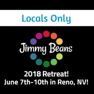 Jimmy Beans Wool 2018 Knitting Retreat - Locals Only