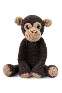 Toft Amigurumi Crochet Kit - Benedict the Chimpanzee