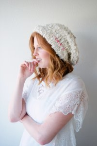 Knit Collage Patterns - Boho Fable Hat - PDF DOWNLOAD