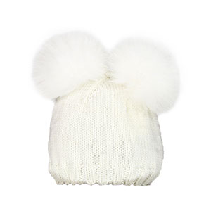 Jimmy Beans Wool Lil' Cubs Bear Hats - Polar Bear