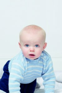 Rowan Baby Knits Collection Patterns - Striped Jumper - PDF DOWNLOAD Pattern
