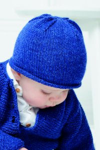 Rowan Baby Knits Collection Patterns - Simple Hat - PDF DOWNLOAD Pattern