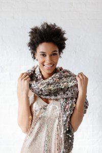 Knit Collage Patterns - Amulet Shawl - PDF DOWNLOAD Pattern