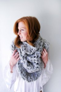 Knit Collage Patterns - Cloud Walking Shawl - PDF DOWNLOAD