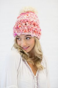 Knit Collage Patterns - Rosalita Hat - PDF DOWNLOAD photo