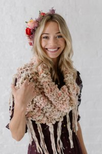 Knit Collage Patterns - Folk Song Cowl - PDF DOWNLOAD Pattern