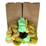 Jimmy Beans Wool Fingering Mystery Yarn Grab Bags Yarn - Yellows, Greens