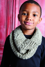 Rowan Little Dudes Collection Patterns - Pippin Cowl