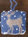 Cascade 220 Sport Fawn and Reindeer Ornament