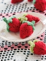 Spud and Chloe Sweater Knitted Strawberries