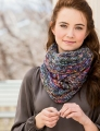 Universal Yarns Classic Shades Frenzy Galaxy Cowl Kit