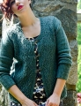 Madelinetosh Tosh Merino Broadway Diamonds Cardigan Kit