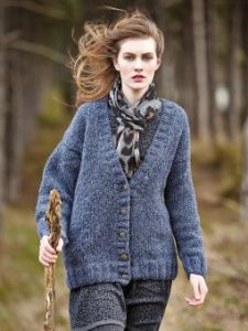 Rowan Brushed Fleece Dee Cardigan Kit - Women's Cardigans