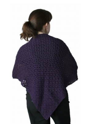 Cascade Cloud Down in the Delta Shawl Kit - Crochet for Adults