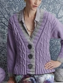 Cascade Cloud/Eco Cloud Deep V-neck Cardigan