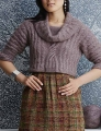 Juniper Moon Farm Findley DK Cropped Cable Pullover Kit