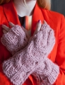Debbie Bliss Roma Cabled Handwarmers Kit
