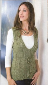 Berroco Bonsai Tunic from Interweave Knits Kit - Women's Sleeveless