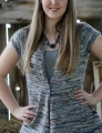 Koigu Kersti Merino Crepe Early Fall Vest Kit