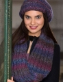 Red Heart Boutique Treasure Reversible Cable Cowl Kit